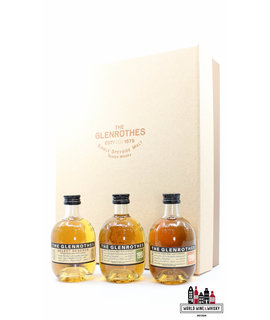 Glenrothes Glenrothes Gift Pack - The Secret of the Glenrothes  (3 x 100ml + glasses)
