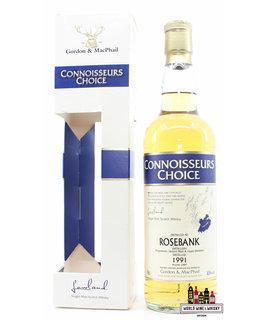 Rosebank Rosebank 17 Years Old 1991 2009 - Connoisseurs Choice - Gordon & MacPhail 43%