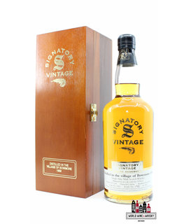 Bowmore Bowmore 32 Years Old 1968 2000 - Cask 1422 - Signatory Vintage - Rare Reserve 46% (1 of 236)