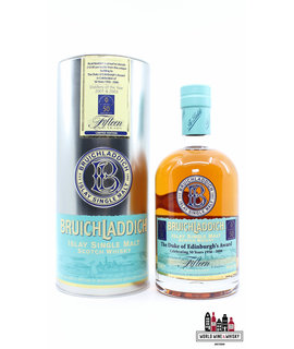 Bruichladdich Bruichladdich 15 Years Old 2006 The Duke of Edinburgh's Award - 50th Anniversary 1956-2006 54%