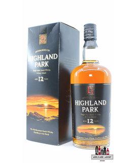Highland Park Highland Park 12 Years Old - Sunset Label, Old Label 40% 1000ml (1 Liter)