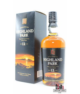 Highland Park Highland Park 12 Years Old - Sunset Label, Old Label 40% 700ml