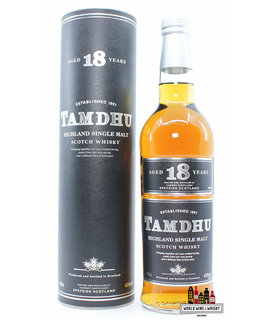 Tamdhu Tamdhu 18 Years Old - Black/Silver Label 43%