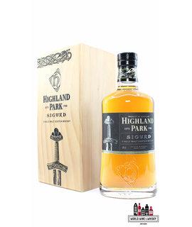 Highland Park Highland Park 2013 Sigurd - The Warriors Series 43% (in luxury wooden case)