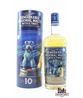 Douglas Laing Douglas Laing's 10 Years Old 2018 - Remarkable Regional Malts with a Twist - 70th Anniversary 48% (1 of 5000)