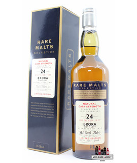 Brora Brora 24 Years Old 1977 2001 - Rare Malts Selection - Natural Cask Strength - 1 of 6000 56.1% (Closed Distillery)