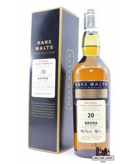 Brora Brora 20 Years Old 1982 2003 - Rare Malts Selection - Natural Cask Strength 58.1% (Closed Distillery)