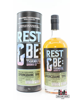 Springbank Springbank 26 Years Old 1990 2016 - Rest & Be Thankful Whisky Co - Cask 096 48.9% (1 of 267)