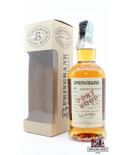Springbank Springbank 14 Years Old 1989 2014 - Port Wood - Wood Expressions Series 52.8% (1 of 7200)