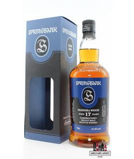 Springbank Springbank 17 Years Old 2002 2020 - Madeira Wood - Blue/Black Edition 47.8% (1 of 9200)