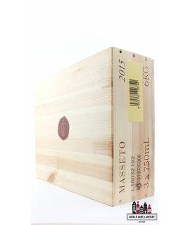 Masseto Tenuta dell Ornellaia Masseto 2015 (3-bottles OWC) - 100 Parker Points