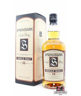 Springbank Springbank 15 Years Old - Beige Label - Old Bottling 46%