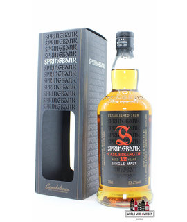 Springbank Springbank 12 Years Old 2014 - Cask Strength - Red/Black Edition 53.2%