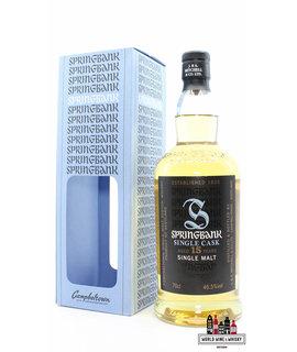 Springbank Springbank 15 Years Old 2000 2015 - Single Cask - Bottled for The Nectar, Belgium 46.5% (1 of 198)