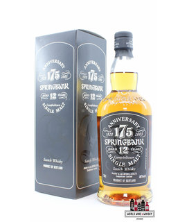 Springbank Springbank 12 Years Old 2003 - 175th Anniversary 1828-2003 46% (1 of 12000)