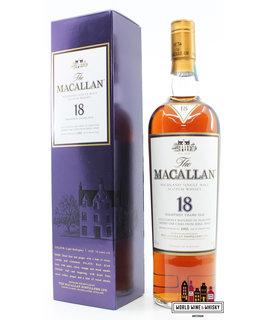 Macallan Macallan 18 Years Old 1995 2013 Sherry Oak Casks 43%
