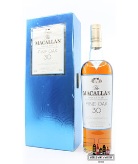Macallan Macallan 30 Years Old 2007 Fine Oak 43% (in luxury case)