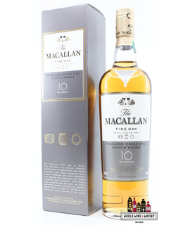 Macallan Macallan 10 Years Old - Fine Oak Triple Cask Matured 40% 700ml