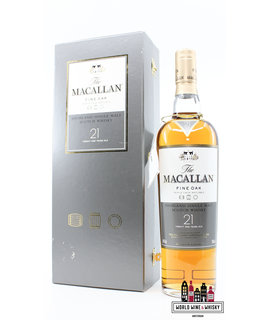 Macallan Macallan 21 Years Old - Fine Oak Triple Cask Matured 43% (in luxury case)