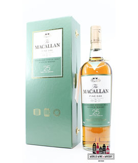 Macallan Macallan 25 Years Old 2008 - Fine Oak Triple Cask Matured 43% (in luxury case)