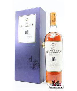 Macallan Macallan 18 Years Old 1996 2014 Sherry Oak Casks from Jerez 43% (in luxury case)