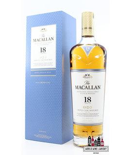 Macallan Macallan 18 Years Old - Annual 2019 Release - Triple Cask Matured - Fine Oak 43% (in luxury case)