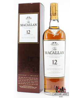 Macallan Macallan 12 Years Old - Sherry Oak Casks from Jerez 40% (Singapore Import)