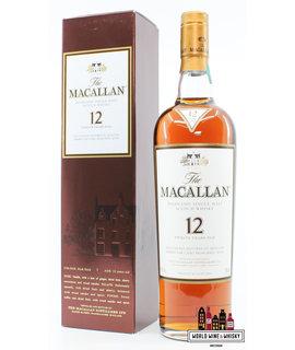 Macallan Macallan 12 Years Old - Sherry Oak Casks from Jerez 40%