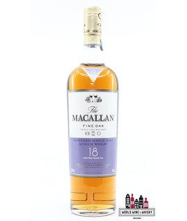 Macallan Macallan 18 Years Old - Fine Oak Triple Cask Matured 43% (bottle only)