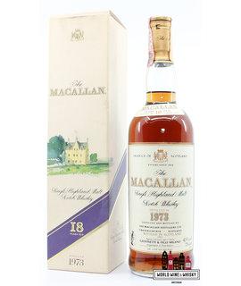 Macallan Macallan 18 Years Old 1973 1991 Sherry Wood - Giovinetti & Figli Milano, Italia 43% 750ml
