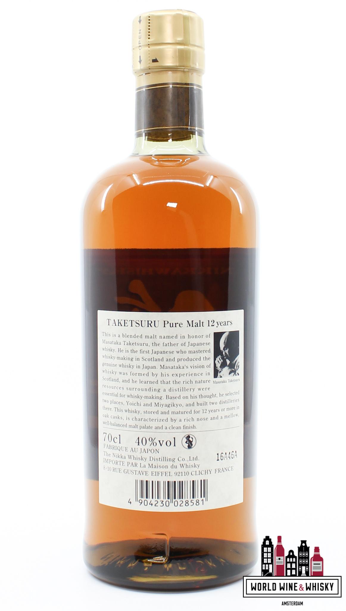 Nikka Whisky Taketsuru 12 Years Old - Pure Malt - Nikka Whisky 40%