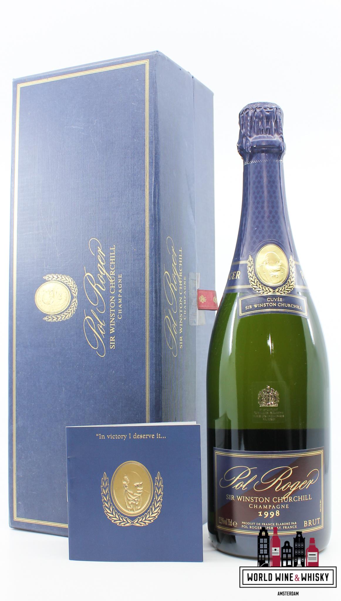 Pol Roger Pol Roger - Sir Winston Churchill 1998 Champagne Brut