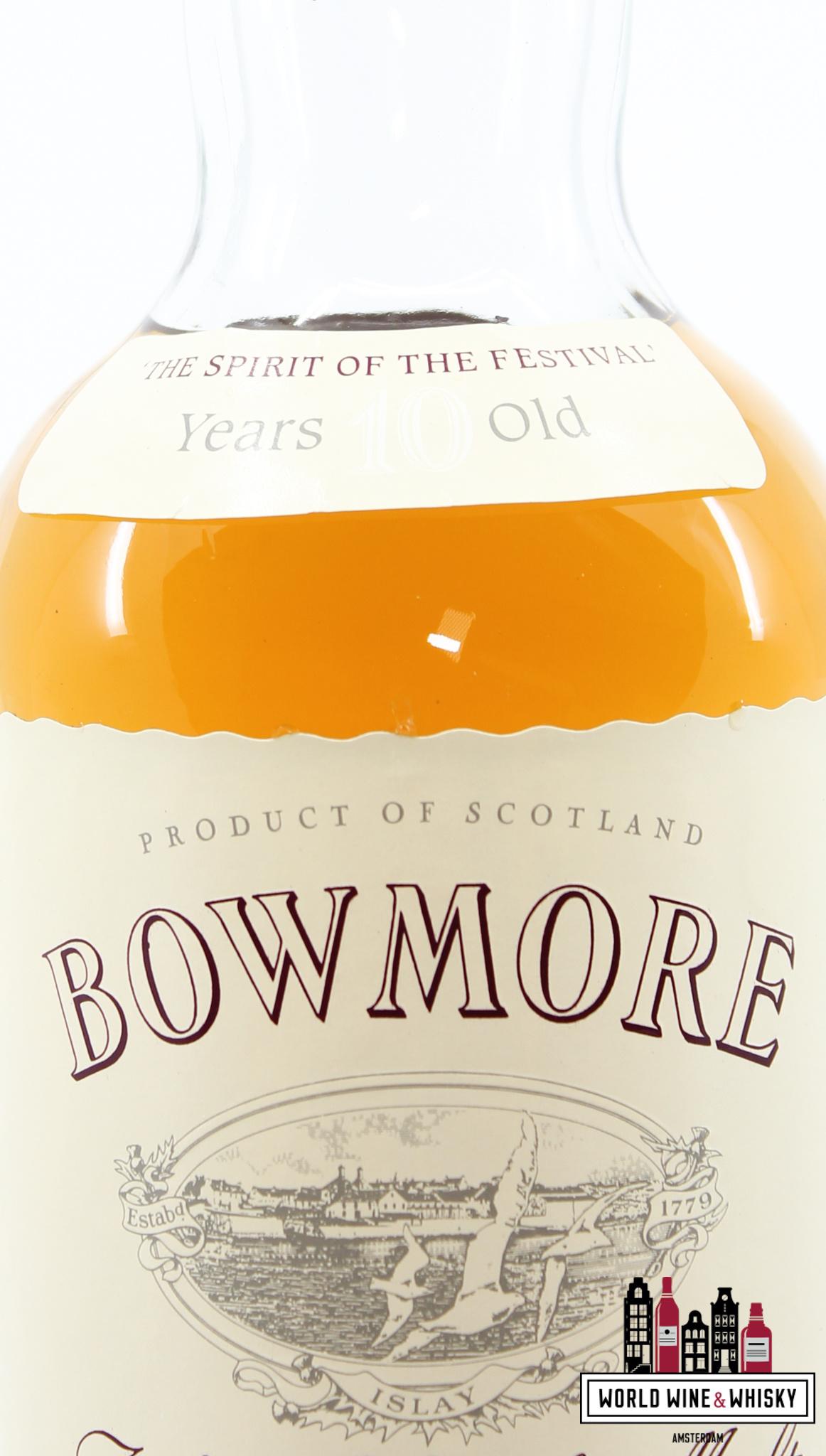 Bowmore Bowmore 10 Years Old 1988 - Glasgow Garden Festival '88 40% 750ml