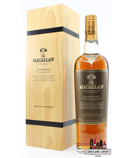 Macallan Macallan No 1 Edition 2015 - in wooden box 48% (1 of 1500)