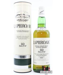 Laphroaig Laphroaig 10 Years Old - Single Islay Malt Scotch Whisky - 80s Bottling 43% 750ml