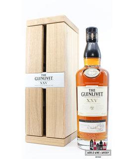 Glenlivet Glenlivet XXV 25 Years Old 2019 - Batch 0419E 43% (in luxury wooden case)