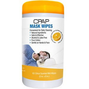 CPAP masker reinigings doekjes citrus