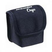 Zwart draagtasje met clip - Nonin GO2 Saturatiemeter