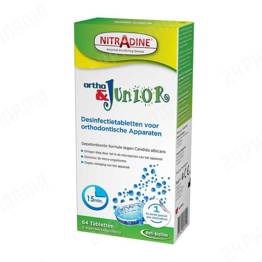 Nitradine Ortho&Junior (64 stuks)