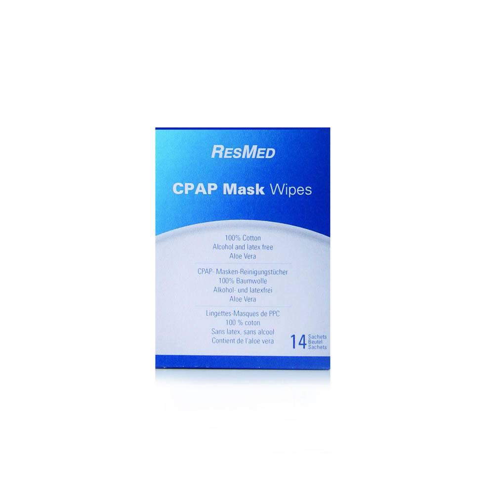 ResMed CPAP masker reinigingsdoekjes - 14 stuks