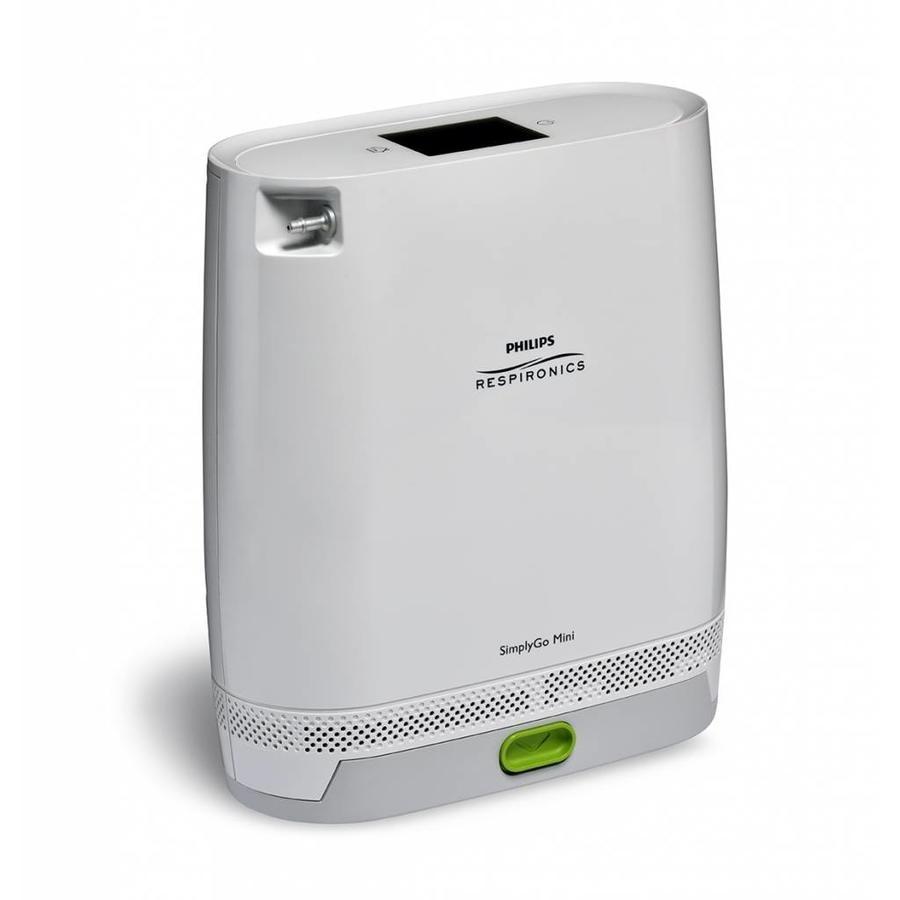 Philips Respironics SimplyGo Mini met extended batterij