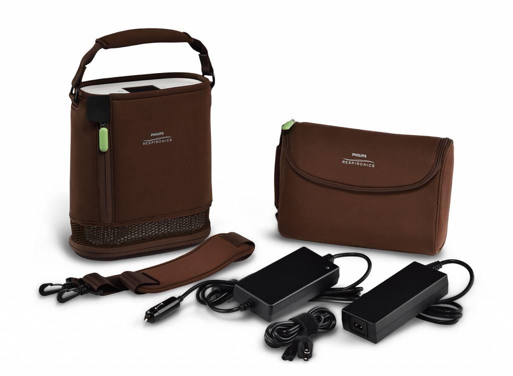 Philips Respironics SimplyGo Mini met extra batterij