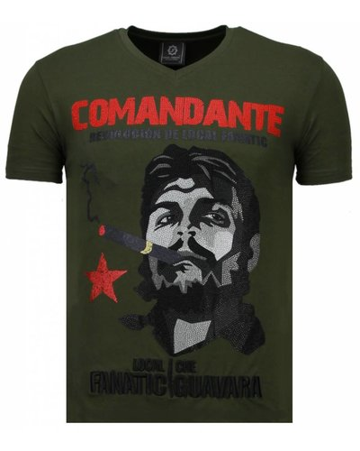 Local Fanatic T-shirt - Comandante - Army