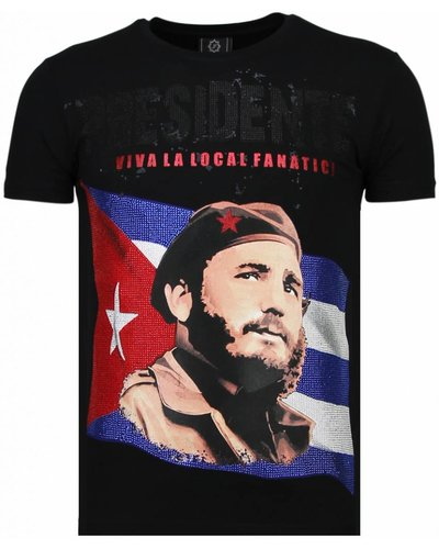 Local Fanatic T-shirt - Presidente - Zwart