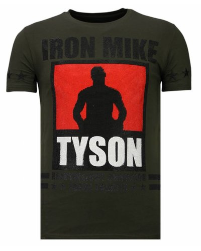 Local Fanatic T-shirt - Iron Mike Tyson - Khaki