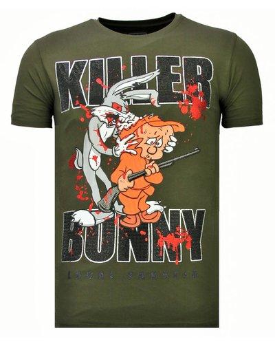 Local Fanatic T-shirt - Killer Bunny - Khaki