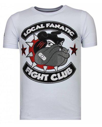 Local Fanatic T-shirt - Fight Club Spike - White