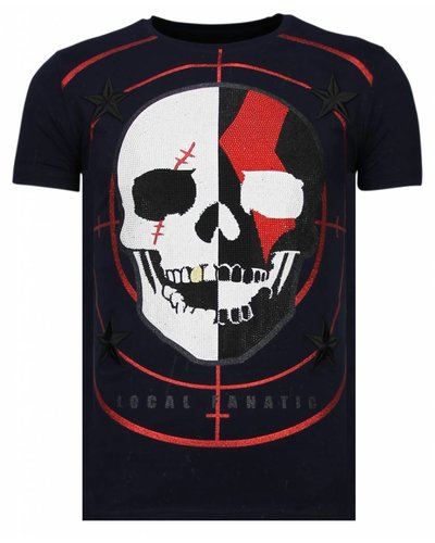 Local Fanatic T-shirt - God Of War - Blauw