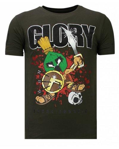 Local Fanatic Camiseta - Glory Martial - Verde