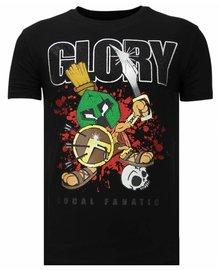 Local Fanatic Camiseta - Glory Martial - Negro